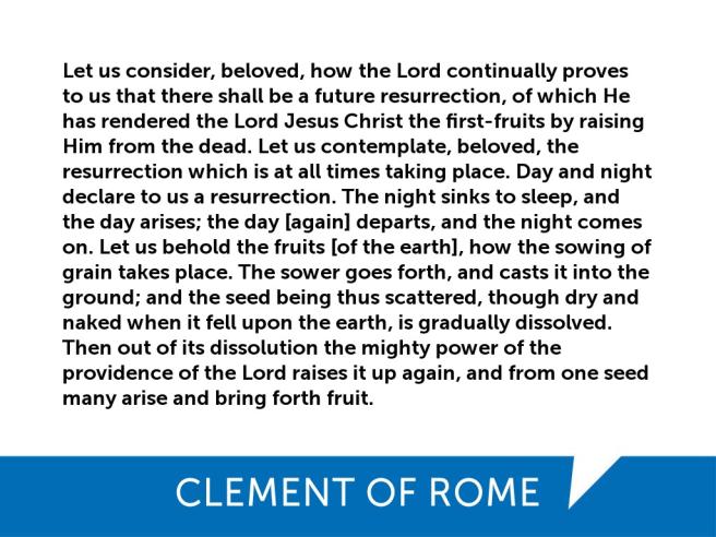 Clement-Resurrection
